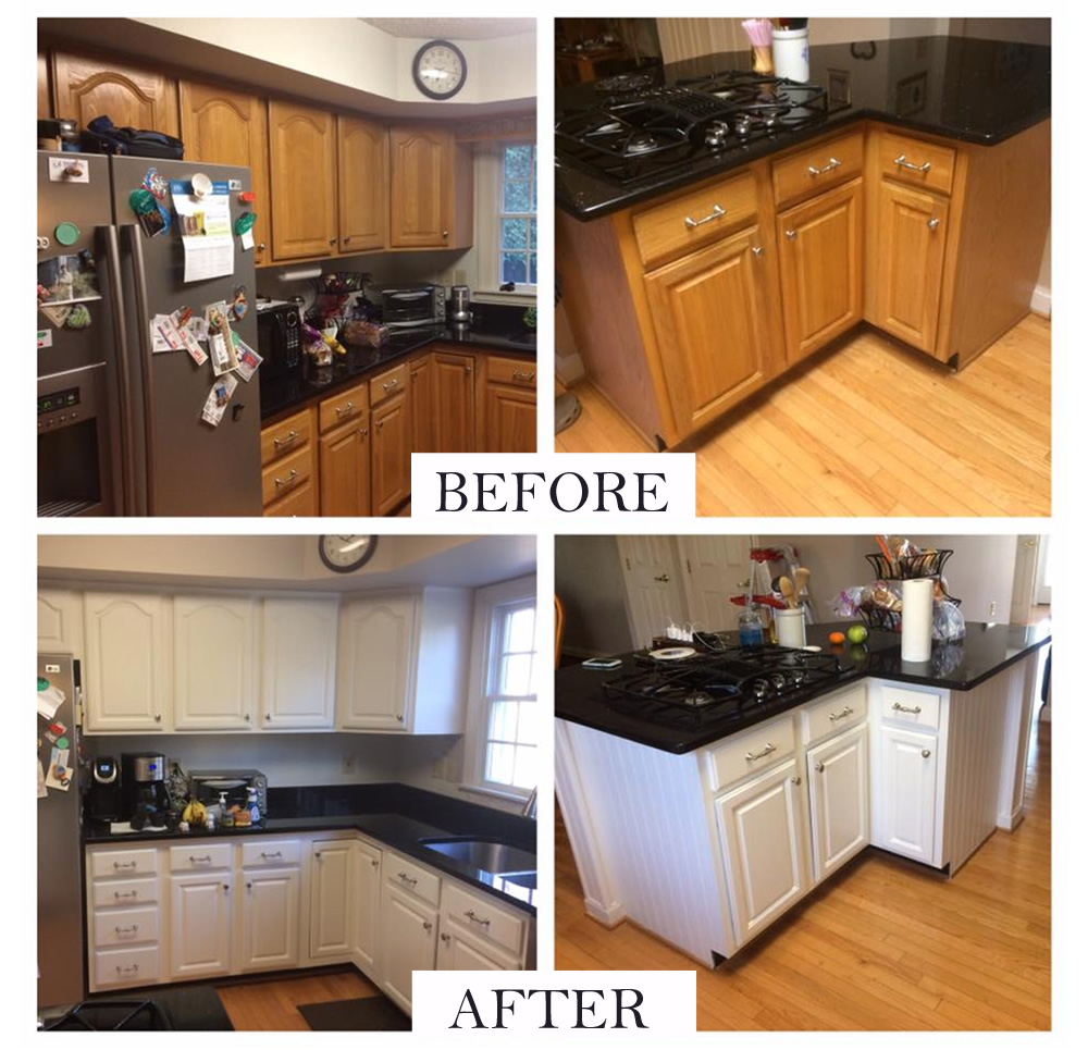 Cabinet Refinishing - Chesapeake Painting Services