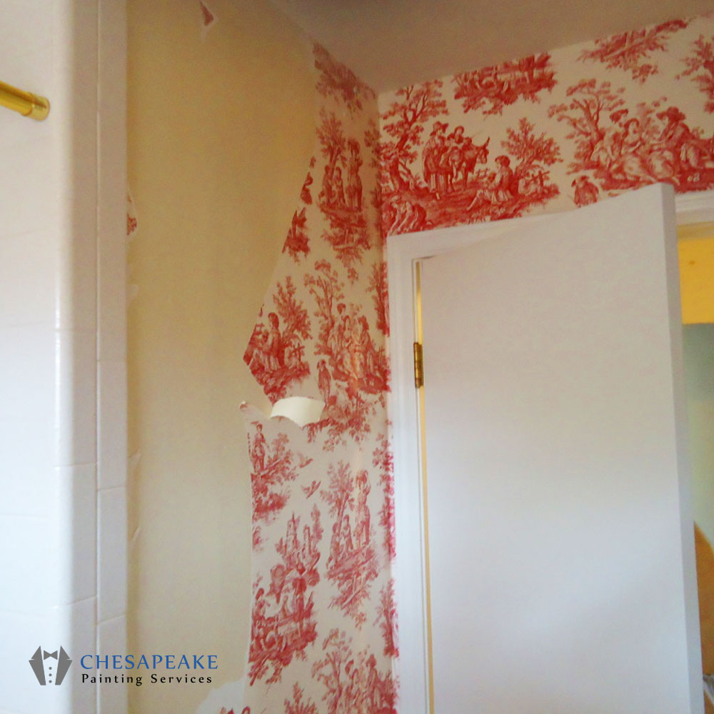 Wallpaper Removal Chesapeake Painting Services